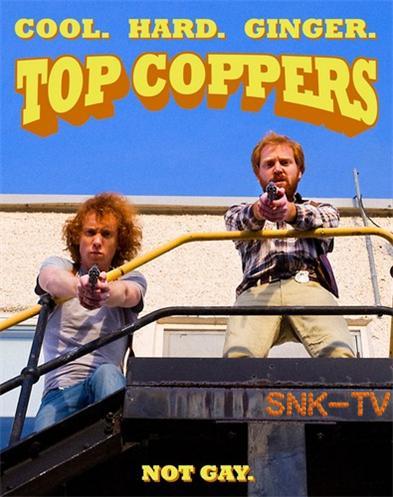 Ржавые копы / Top Coppers / Сезон: 1 / Серии: 1 из 6 (Джим Филд Смит) [2015 г., Комедия, WEBRip] DVO (SNK-TV) + Original + Rus Subs